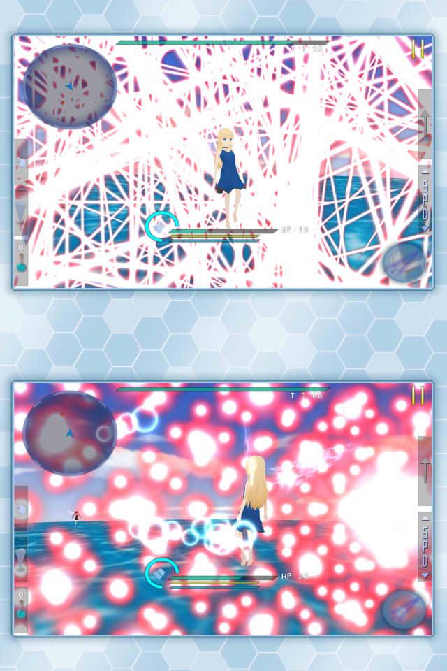 アストラルドレイン - 弾幕シューティングのスクリーンショット_5