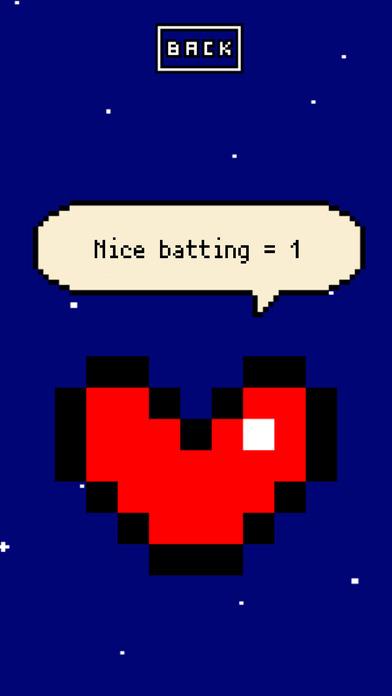 ラブバッテイング - 片手で遊べる野球ゲームのスクリーンショット_4