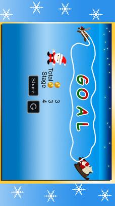 サンタクロースVS雪だるま - クリスマスのジャンプゲームのスクリーンショット_4