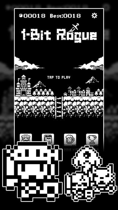 1ビットローグ ダンジョン探索RPG!のスクリーンショット_1