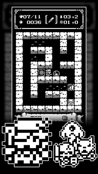 1ビットローグ ダンジョン探索RPG!のスクリーンショット_2