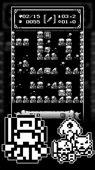 1ビットローグ ダンジョン探索RPG!のスクリーンショット_3