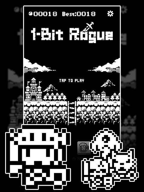 1ビットローグ ダンジョン探索RPG!のスクリーンショット_4