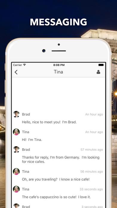 Traveler's Chatのスクリーンショット_3