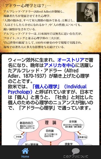 クイズforアドラー心理学早わかりクイズ、簡単にわかります。のスクリーンショット_5