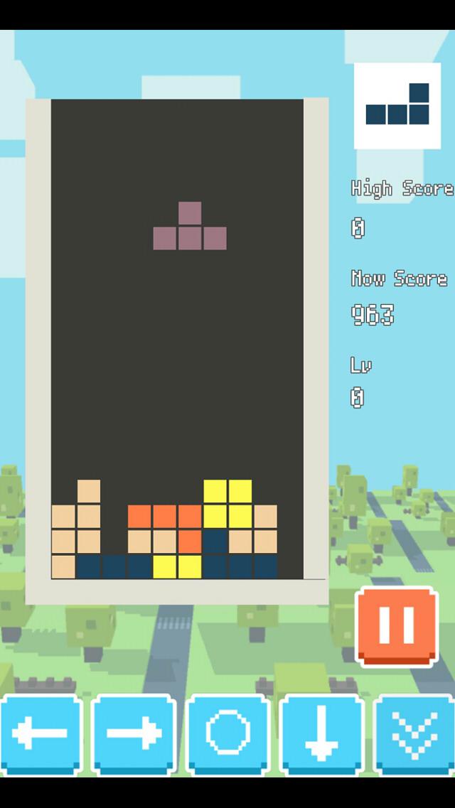 TETBLOCKS 無料で遊べるテトリスのスクリーンショット_1