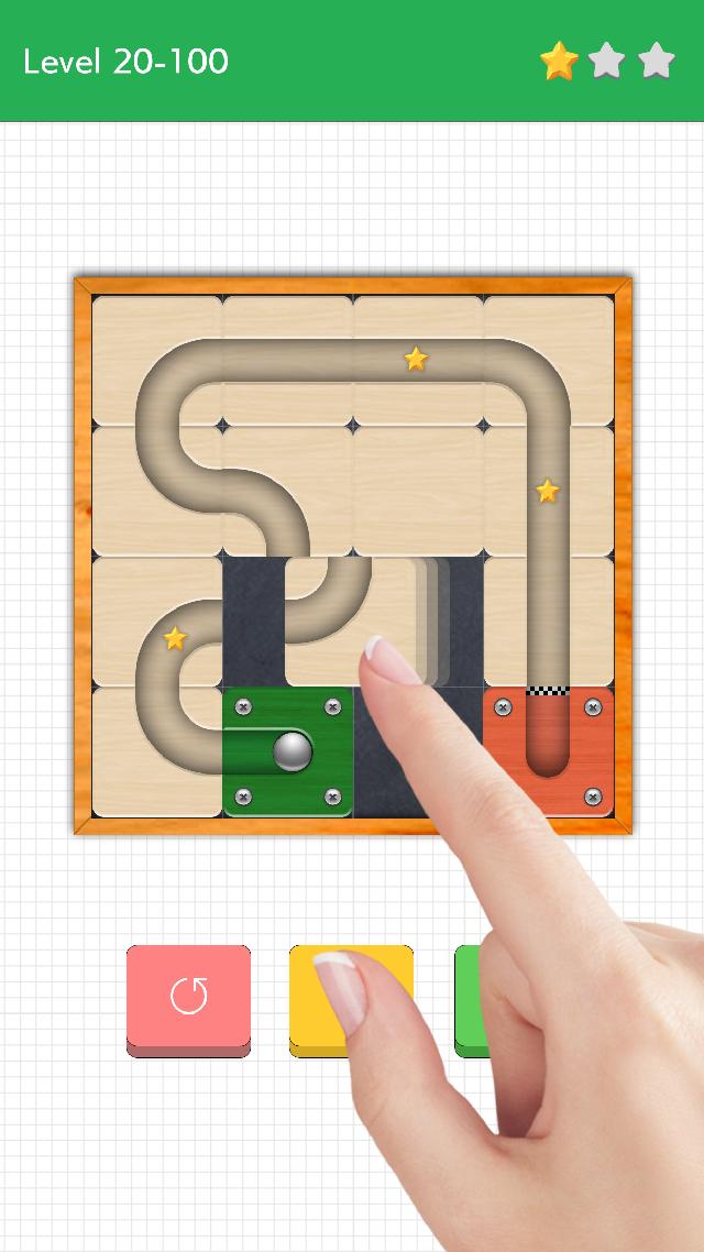 頭が良くなるスライドパズル Rollのスクリーンショット_1