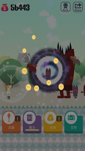 ポケット魔法少女 : Pocket Wizardのスクリーンショット_4