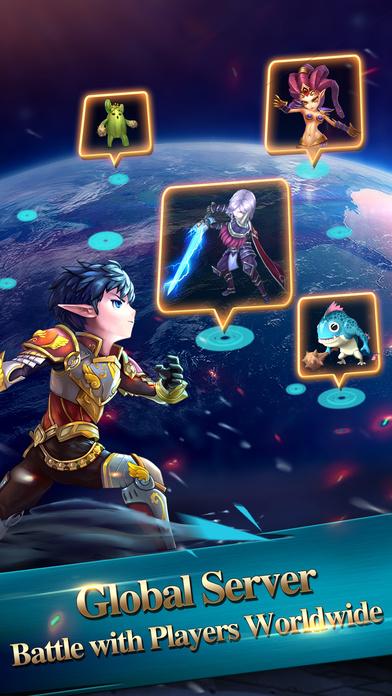 Paradise War - Global 3D ARPGのスクリーンショット_5