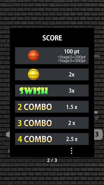 Swish Shot! - バスケットボールシュートゲームのスクリーンショット_3