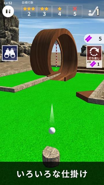 ミニゴルフ 100 - パターゴルフのスクリーンショット_4