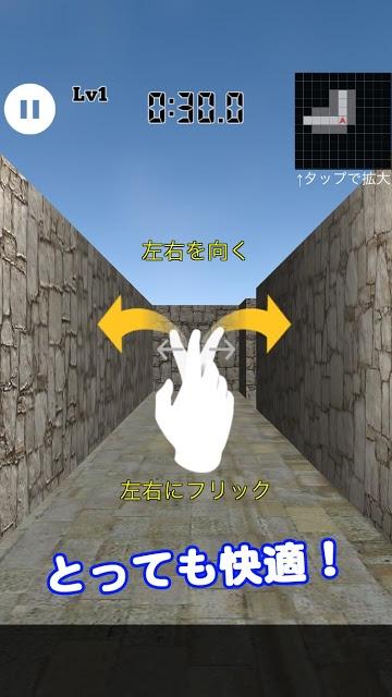 3D迷路 Lv100のスクリーンショット_2