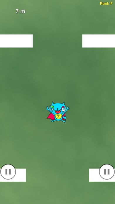 ねこっとび:指の限界に挑む無料のタップアクションゲームアプリのスクリーンショット_2