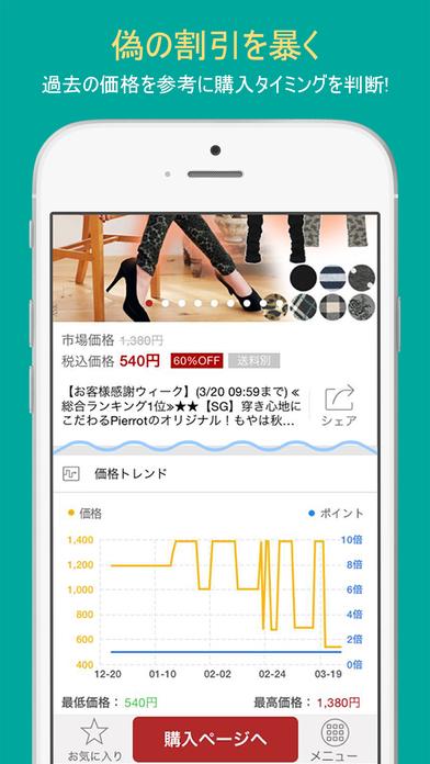 ラクワリ-楽天市場の割引情報をリアルタイムで検索のスクリーンショット_2