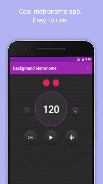 Background Metronomeのスクリーンショット_1