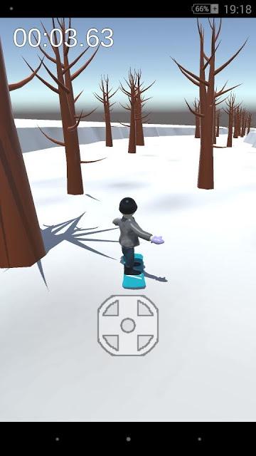 Strange snow boardのスクリーンショット_2
