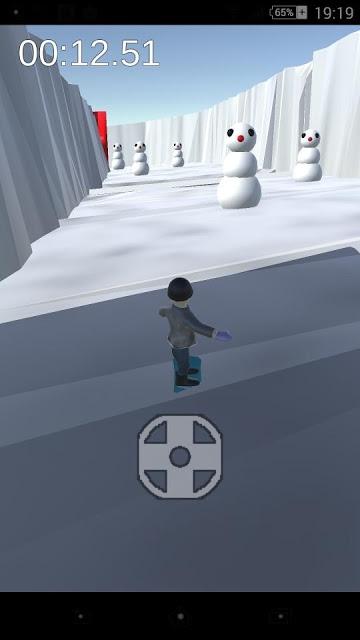 Strange snow boardのスクリーンショット_3