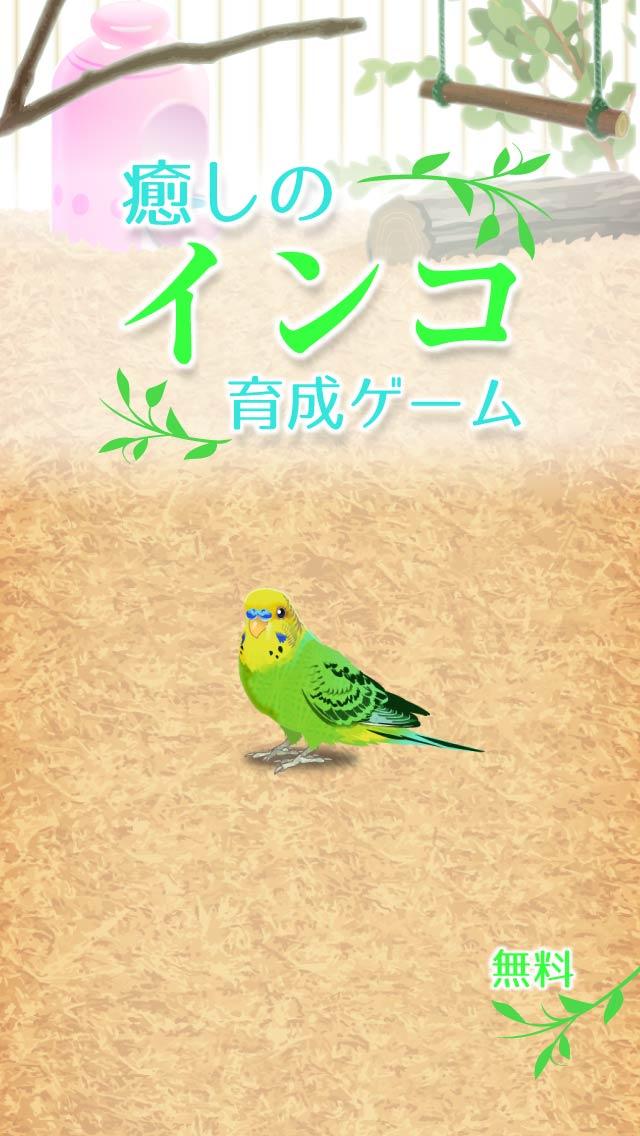 癒しのインコ育成ゲームのスクリーンショット_1