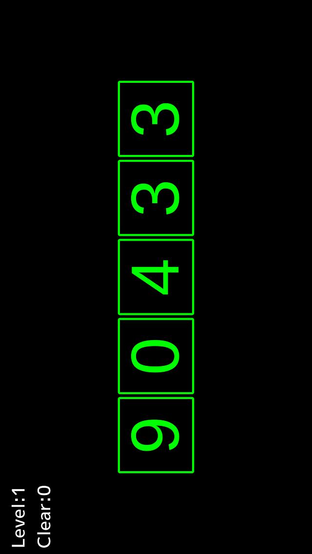 FlashNumbersのスクリーンショット_1
