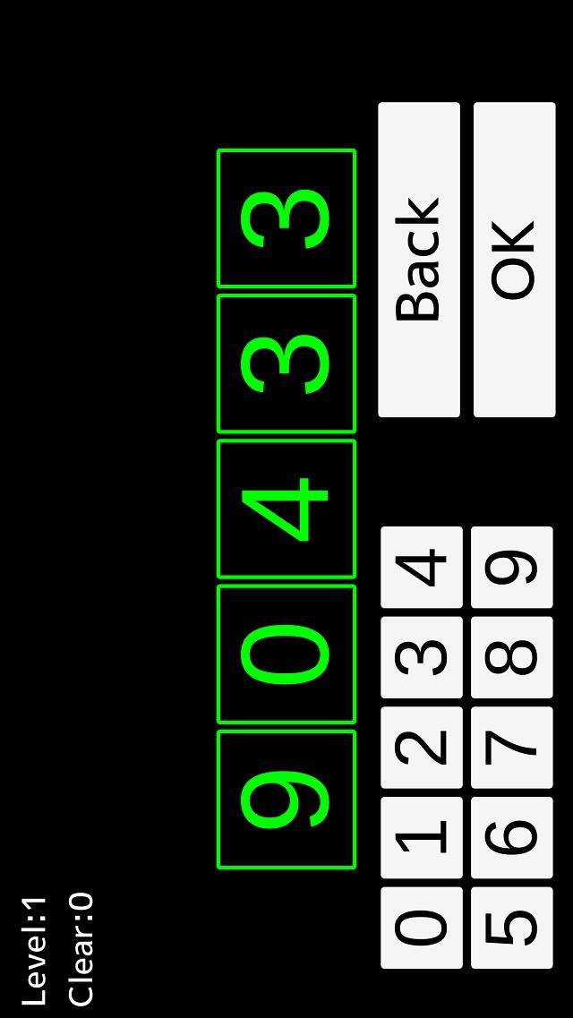 FlashNumbersのスクリーンショット_3