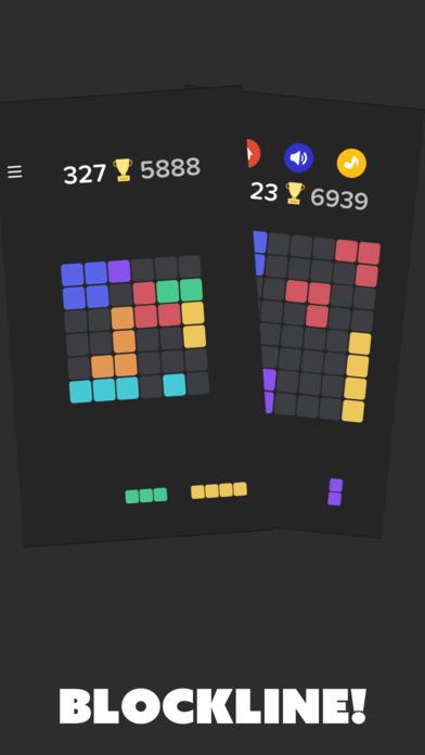 ブロックラインのスクリーンショット_2
