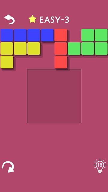 ブロックパズルカラーのスクリーンショット_3