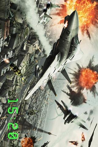 戦闘機時計 : エースコンバット アサルト・ホライゾンのスクリーンショット_1