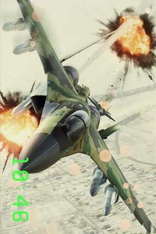 戦闘機時計 : エースコンバット アサルト・ホライゾンのスクリーンショット_3