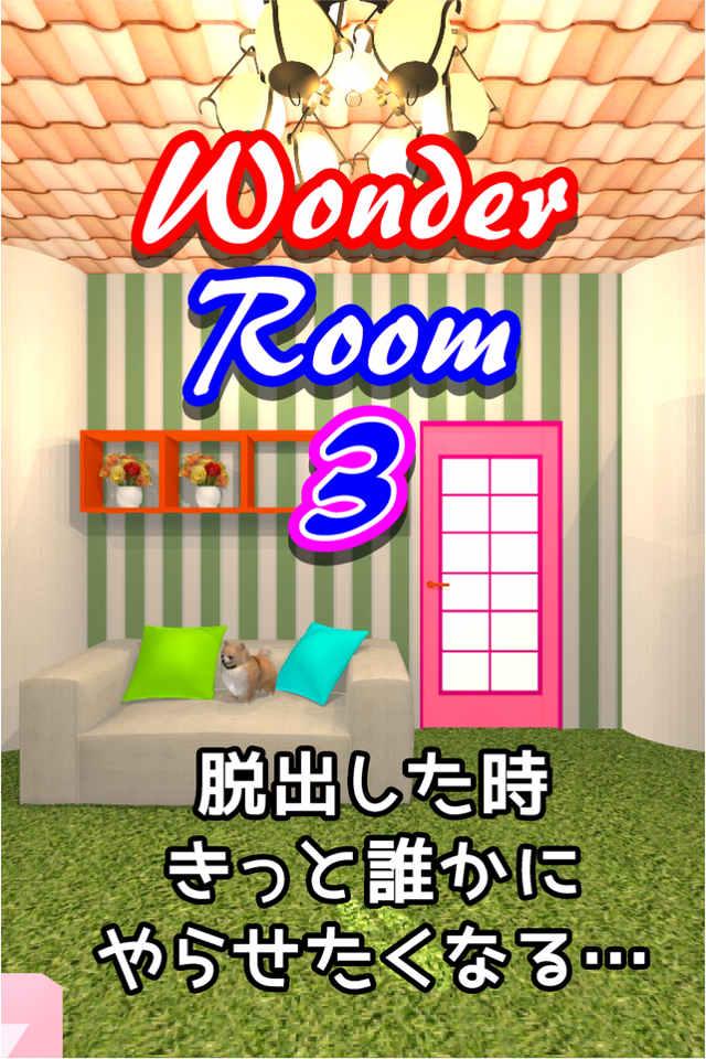 脱出ゲーム WonderRoom3 -ワンダールーム3-のスクリーンショット_1