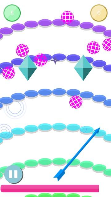 PinPon(ピンポン)~ズバッと爽快シューティング~のスクリーンショット_1
