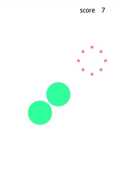 反射神経を鍛えるゲーム~クロスボールのスクリーンショット_2