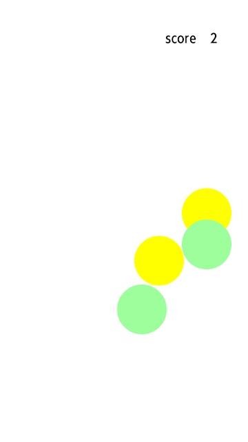 反射神経を鍛えるゲーム~クロスボールのスクリーンショット_3