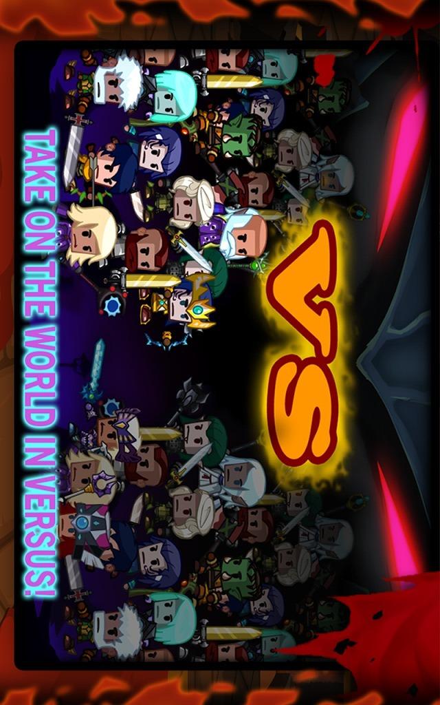 ヒーロー vs モンスターのスクリーンショット_1