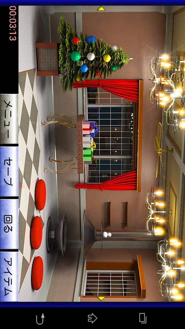 脱出ゲーム クリスマスハウスのスクリーンショット_1
