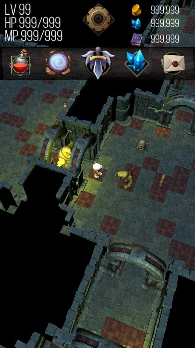 ダンジョン クエスト / 無料ゲーム暇つぶしRPGのスクリーンショット_2