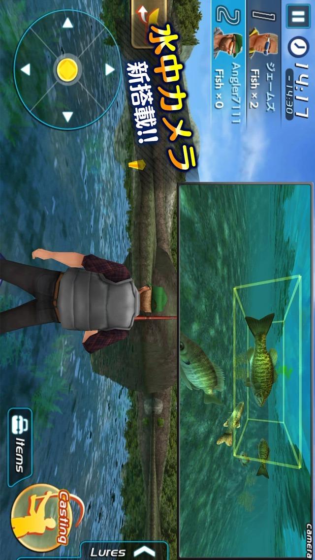 バスフィッシング3DⅡのスクリーンショット_2