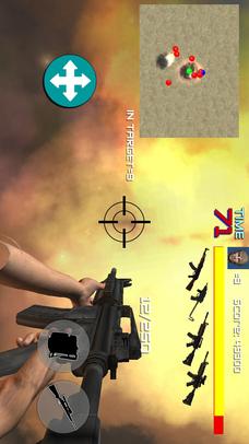 FPSアクションシューティングゲームHELL MISSIONのスクリーンショット_2