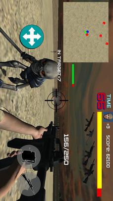 FPSアクションシューティングゲームHELL MISSIONのスクリーンショット_3