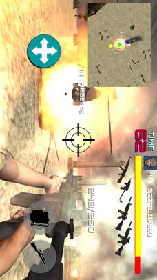 FPSアクションシューティングゲームHELL MISSIONのスクリーンショット_4