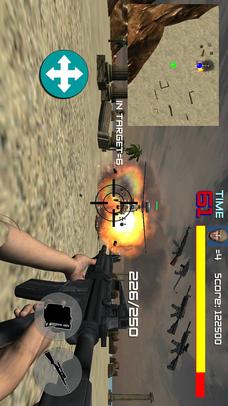 FPSアクションシューティングゲームHELL MISSIONのスクリーンショット_5