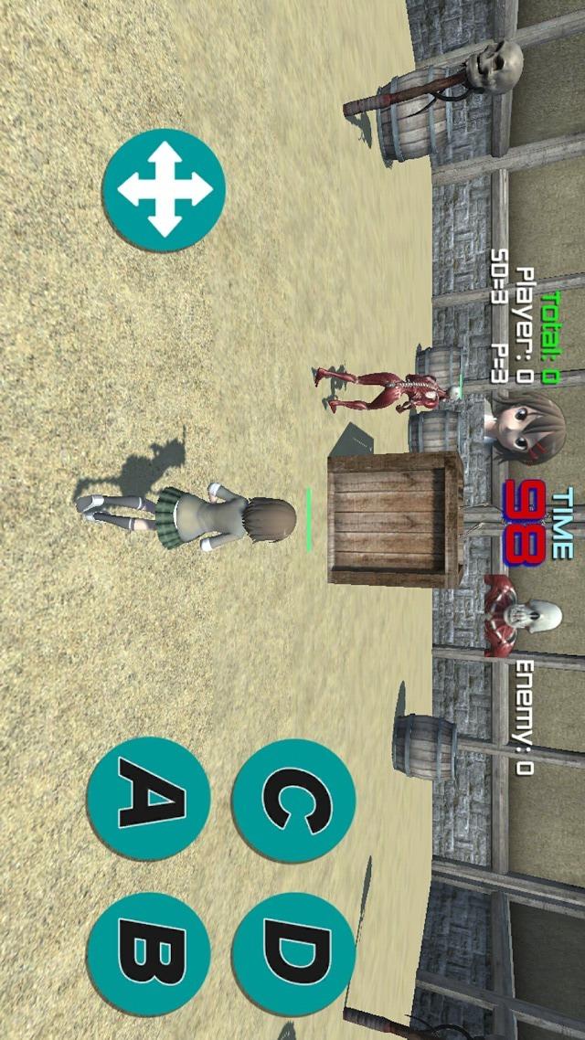 無料アクションゲーム プロ生ちゃんFightのスクリーンショット_2
