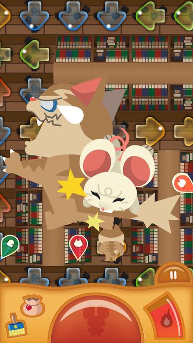 みちびきパズル〜にげネズミといじわるネコ〜のスクリーンショット_1