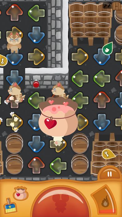 みちびきパズル〜にげネズミといじわるネコ〜のスクリーンショット_2