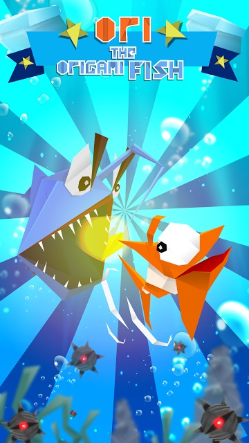 Ori the Origami Fishのスクリーンショット_1