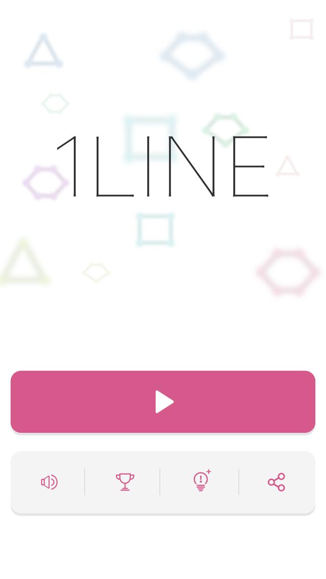 頭が良くなる一筆書きパズル 1LINEのスクリーンショット_3