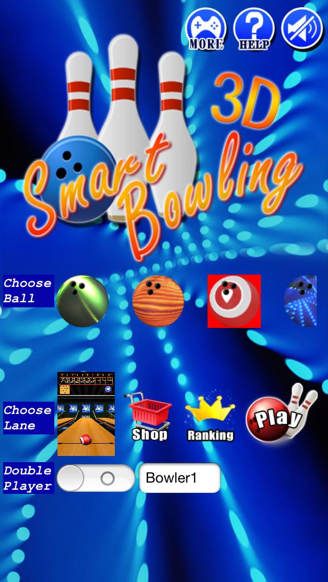 スマートボウリング 3Dのスクリーンショット_1