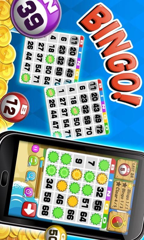 Bingo - 無料ビンゴゲームのスクリーンショット_1