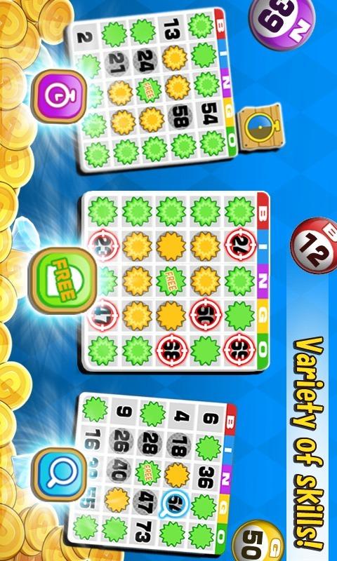Bingo - 無料ビンゴゲームのスクリーンショット_2