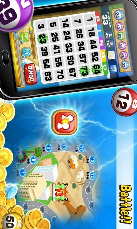 Bingo - 無料ビンゴゲームのスクリーンショット_3