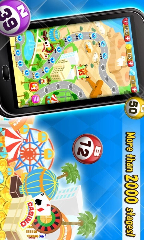 Bingo - 無料ビンゴゲームのスクリーンショット_5